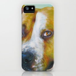 DOG III iPhone Case
