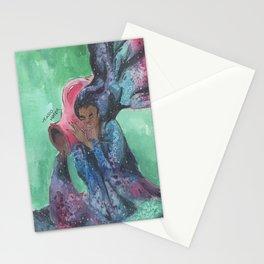 zodiac aquarius Stationery Cards