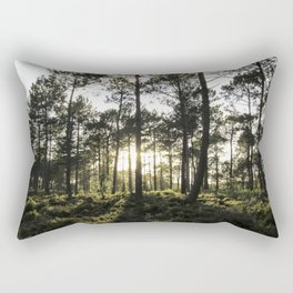 Forest Sunset # 15 Rectangular Pillow
