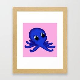 Octobaby Pink Framed Art Print