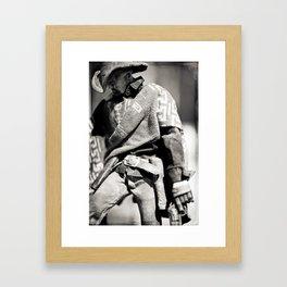 The Blind Cowboy • 1 Framed Art Print