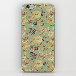 summer watercolor neutral iPhone Skin