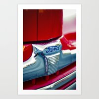 ford Art Prints featuring Ford by Grafiko