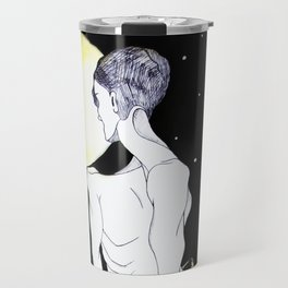 Rebirth Full Moon Transformation Origiinal Artwork Travel Mug