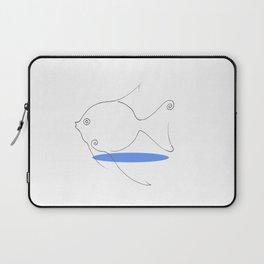 Big Fish Small Pond Laptop Sleeve