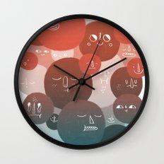 Blood Cells Wall Clock