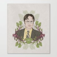 battlestar Canvas Prints featuring Bears, Beets and Battlestar Galactica by Laura Francis Design