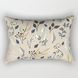 wild flowers 2 Rectangular Pillow