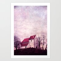faith Art Prints featuring faith by Claudia Drossert