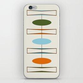 Mid-Century Modern Art 1.2 iPhone Skin