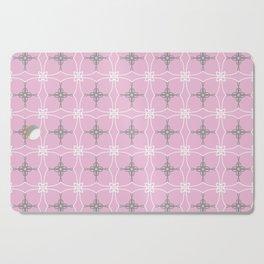 Duchess pink and grey Cutting Board
