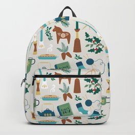 A Very Hygge Holiday Backpack