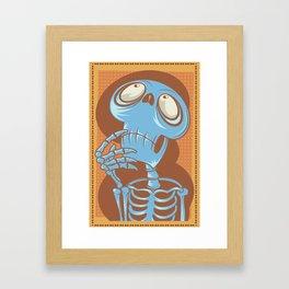 Hmmm.... Framed Art Print