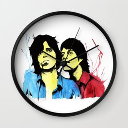 Keith & Mick Wall Clock