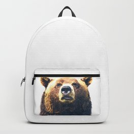Bear portrait Backpack