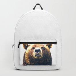 Bear portrait Backpack