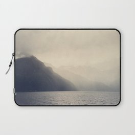 Foggy Fjord, North Sea Laptop Sleeve