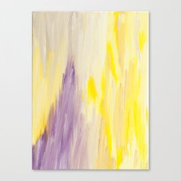 Radiant Abstract Canvas Print