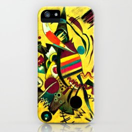 Wassily Kandinsky - Points - Abstract Art iPhone Case