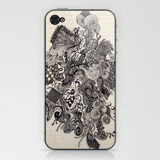 Untitled Vomit iPhone & iPod Skin