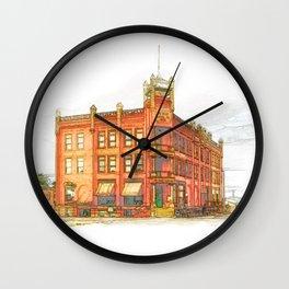 State Capital Company Wall Clock