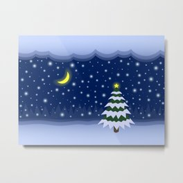 Christmas fairytale Metal Print