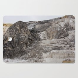 The Steps at Yellowstone Cutting Board