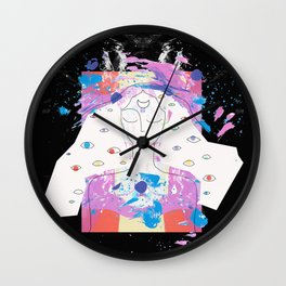 Vision Quest 02 Wall Clock