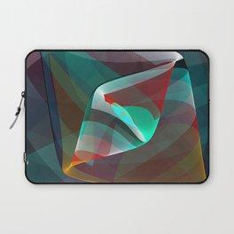 Visual impact, modern fractal abstract Laptop Sleeve