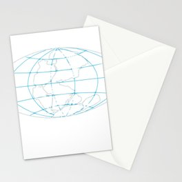 Funny Pangea Matters Super Continent Stationery Cards