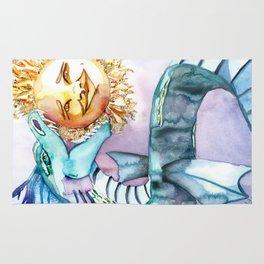 Eclipse Dragon Sun Eater Rug