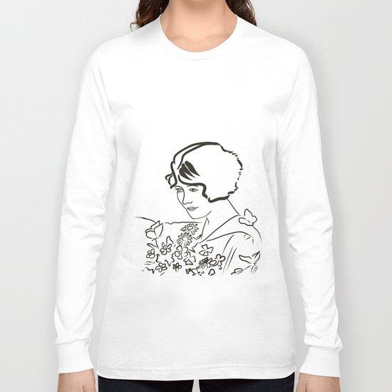 girl vintage Long Sleeve T-shirt