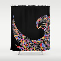 disco Shower Curtains featuring - disco pop - by Magdalla Del Fresto