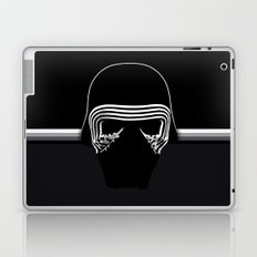 the new villain's helmet, kylo ren Laptop & iPad Skin