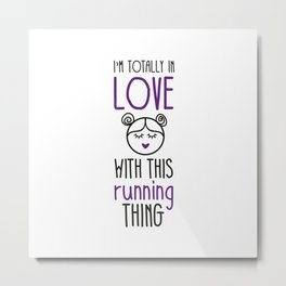 I'm totally in love #13 Metal Print