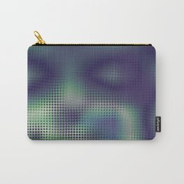 Please Stop Staring At Me Abstract Portrait Carry-All Pouch