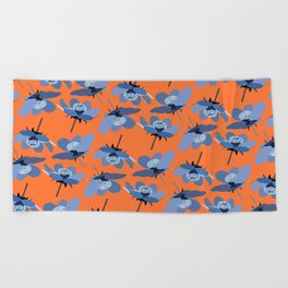 crazy summer Beach Towel