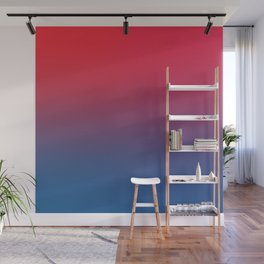 DOUBLE VISION - Minimal Plain Soft Mood Color Blend Prints Wall Mural