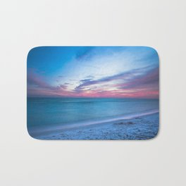 If By Sea - Sunset and Emerald Waters Near Destin Florida Bath Mat