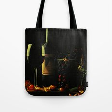 Still Life With Wine Tote Bag