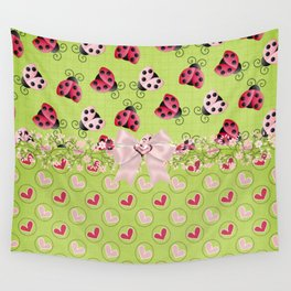 My Classic Ladybugs Wall Tapestry