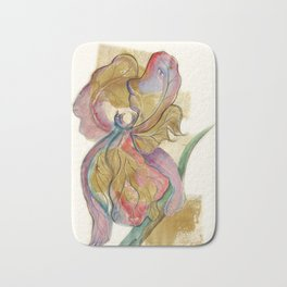Flower Fairy Leaf Bath Mat