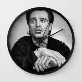 Recovering Bucky Wall Clock