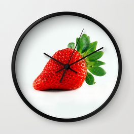 Strawberry's are Kinda Good Wall Clock