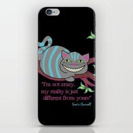 Cheshire cat iPhone Skin