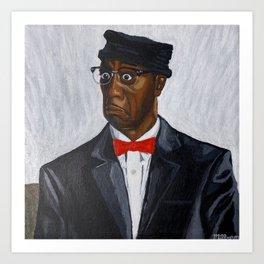 Leon Portrait Art Print