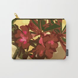 Beautiful Excotic Flowers Carry-All Pouch