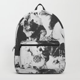Cats Forever B&W Backpack