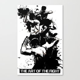 The Art of The Fight Canvas Print