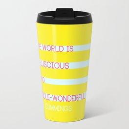 Puddle Wonderful Travel Mug